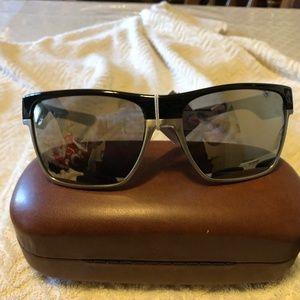 Oakley Two Face XL Black & Gray Sunglasses NWT